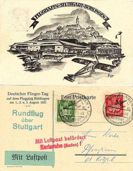 1925-08-03 Deutscher Fliegertag Böblingen 1