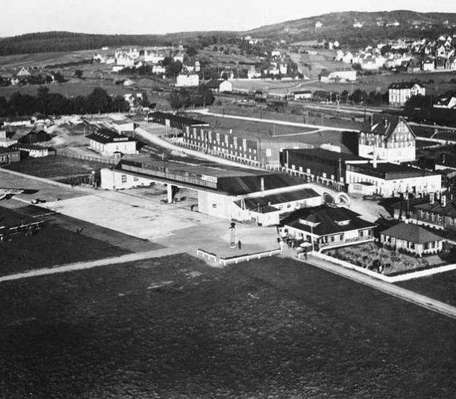 BB-Flughafen 1.Empfangsgebäude 1925