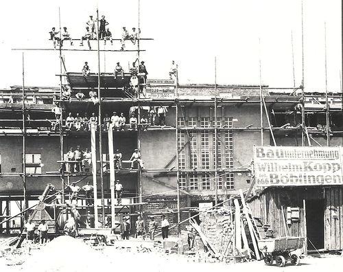 BB-Flughafen 1927 Bau