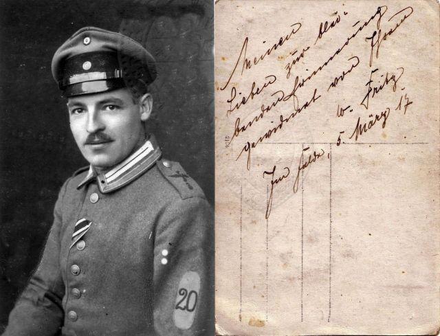 Fitz Schindler 1917-03-05 Feldfliegerabteilung 20