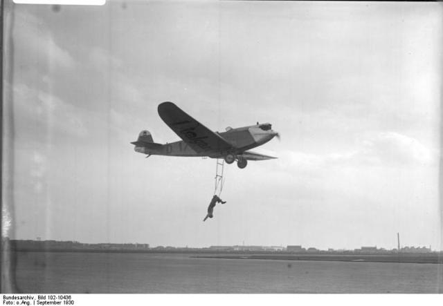 Flugakrobat Schindler