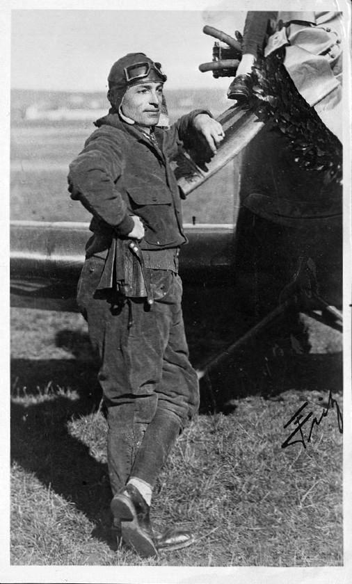 Fritz Schindler mit seiner Klemm L25 1930 (HdG)