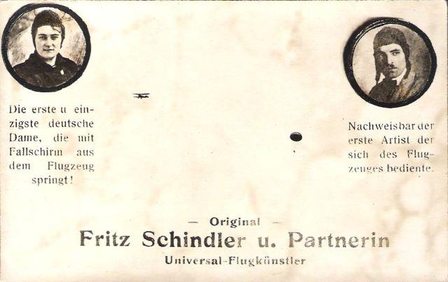 Fritz Schindler und Partnerin