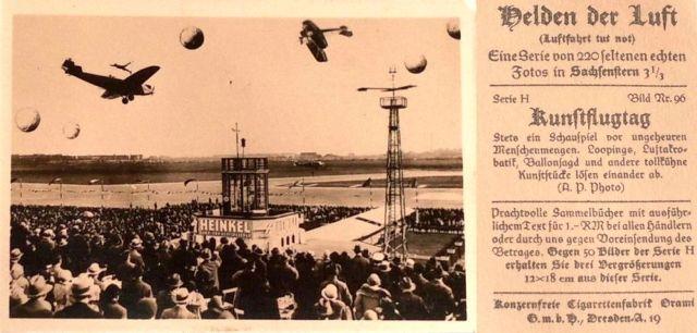 Helden der Luft H96 Fritz Schindler Kunstflug