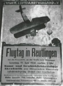 Reutlingen 1930 Plakat (S 100 Nr_11 495)