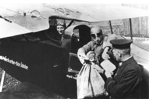 03.01.1921 - Eröffnung des Flugpostverkehrs Konstanz-Stuttgart