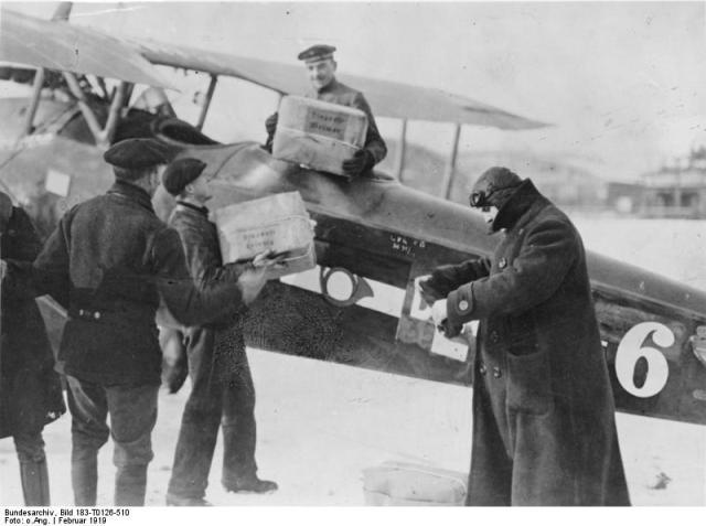 Flugpost Berlin-Weimar