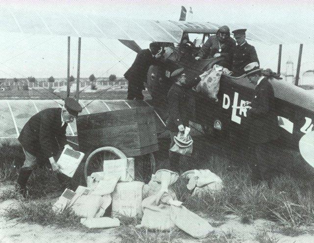erste Luftlinie 1919