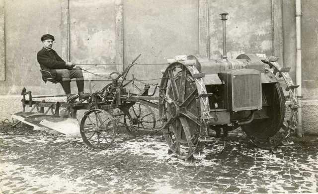 SHW 1924+ Motorpflug-Produktion nach1.weltkrieg-wilhelm späth