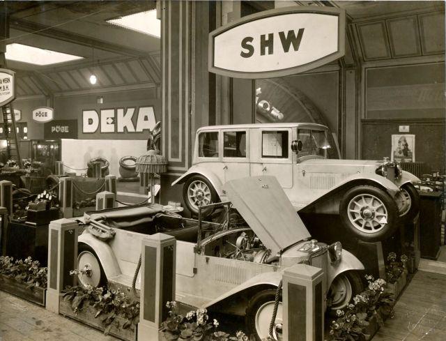 SHW-Wagen IIIC-2200 und IIIC-2201- Ausstellung Berlin 1925
