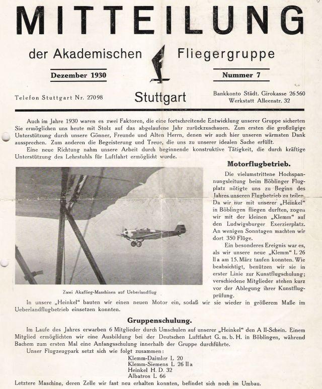 1930-12 Flugbetrieb Böblingen