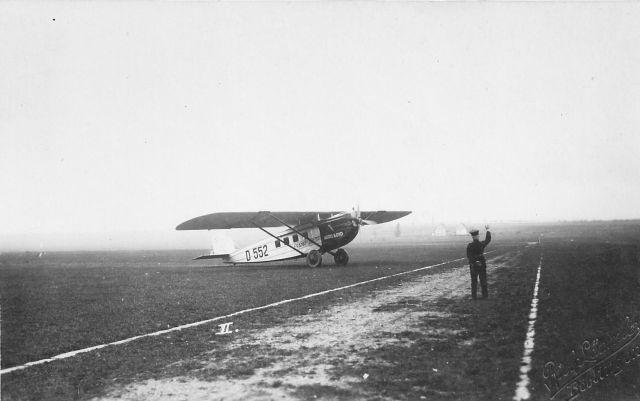 20.April 1925 Start der 1.Linienmaschine, eine Dornier Komet der Aero Lloyd, vom Böblinger Flughafen
