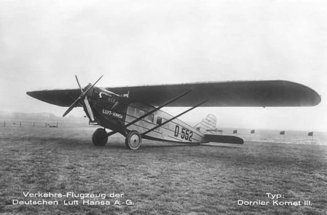 Dornier Komet III D-552 Luft Hansa (2)