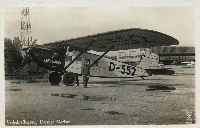 Dornier Merkur D-552 Zentralflughafen Berlin um 1930