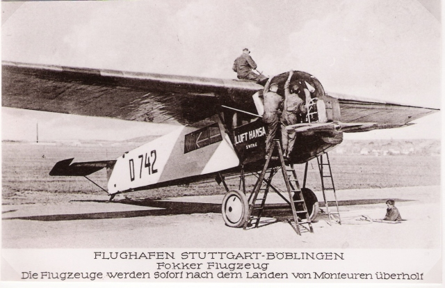 Fokker FII D-742 Böblingen