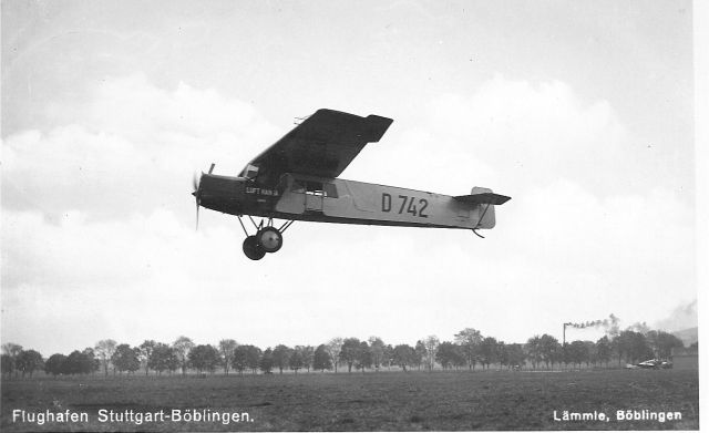 Fokker FII D-742 Böblingen_