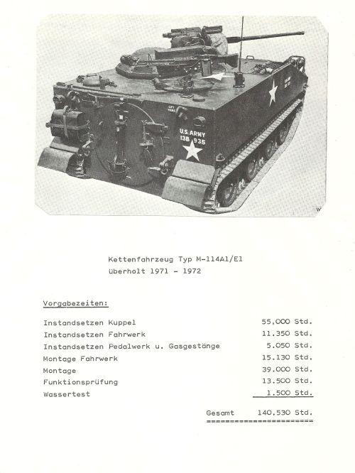 Kettenfahrzeug M114A1 E1