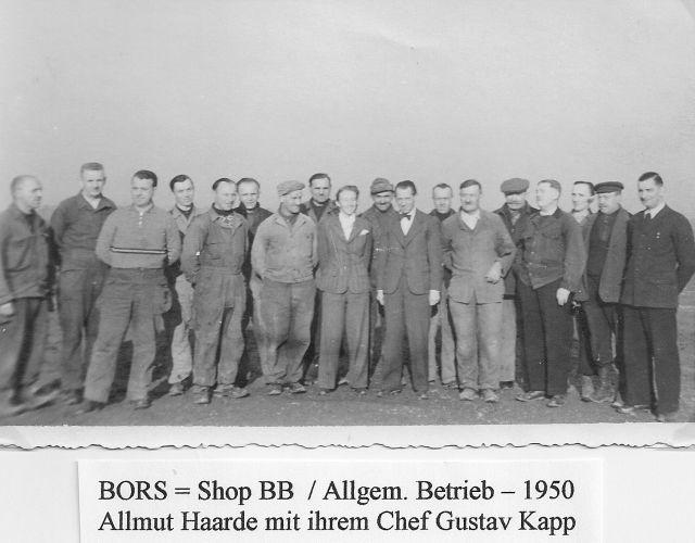 US-Reparaturwerk 1950 Haarde Kapp