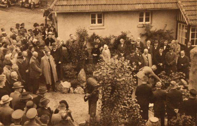 Walter Spengler Torfhaus Einweihung Spenglerstein 1932