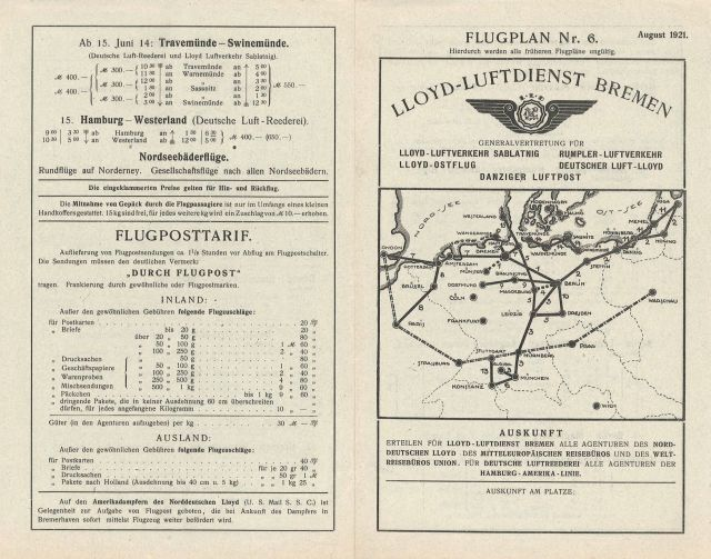 Lloyd Flugplan 1921-08 (1)