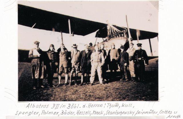 BB-Fliegerschule 1925 Süddeutsche Sportflug GmbH Albatros DII