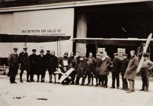 BB-Fliegerschule 1925 Süddeutsche Sportflug GmbH Kreuz Palmer
