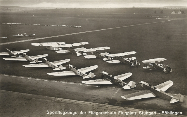 BB-Fliegerschule Sportflugzeuge D-1022 (Wolf)