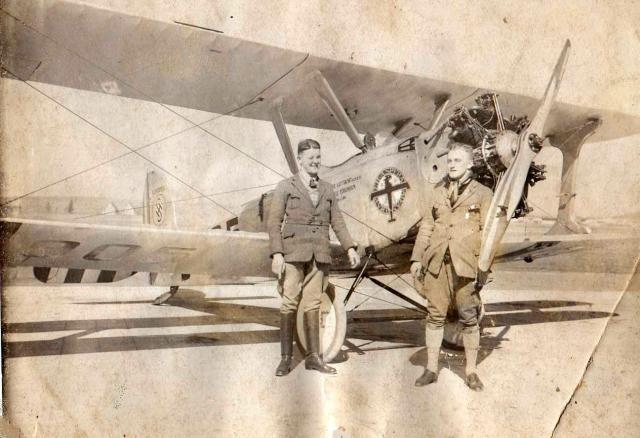Deutsche Luftfahrt BB Udet Flamingo U12 D-905 Hermann Köhl Kunstflugausbildung 1928 - Per Aspera ad Astra (2)