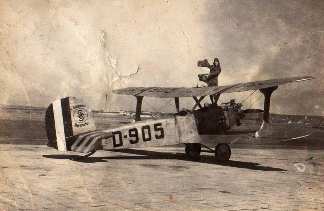 Deutsche Luftfahrt BB Udet Flamingo U12 D-905 Hermann Köhl Kunstflugausbildung 1928 - Per Aspera ad Astra
