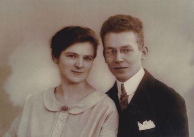 Langguth, Wilhelm und Frieda 1928
