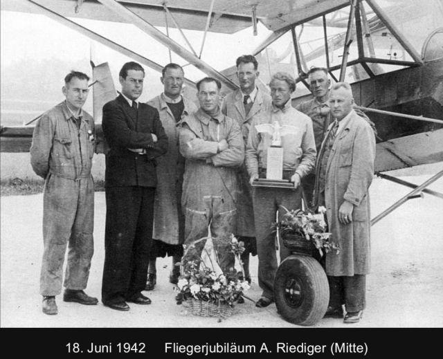 100 Jahre Pfalz - Anton Riediger 1942-06-18 Fliegerjubiläum