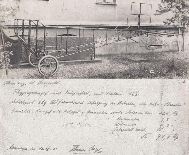 2.Thomas Voigt VLI 1925-07-05 Wilhelm Langguth 1.Flugzeugkonstruktion