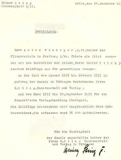 Anton Riediger Zeugnis Sting (HR)
