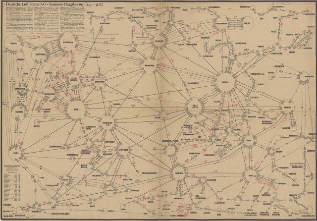 Deutsche Luft Hansa AG Sommer 1931-05-01 bis 1931-08-31