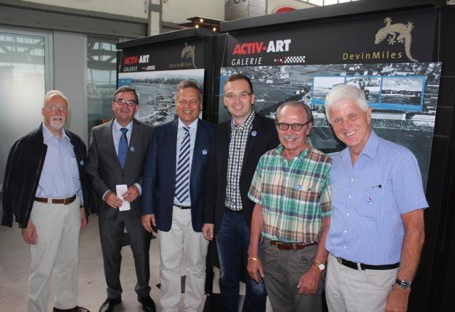 Motorworld 26.07.15 - v.l. Sostmann, Brenner, Schwarz, Zancke, Kapp, Knoblich (Lena Hitzelberger SBZ)