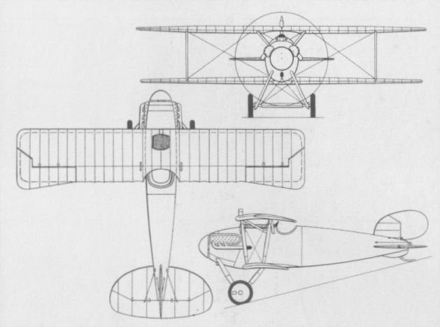 Daimler L6 Daimler's first fighter design 1917