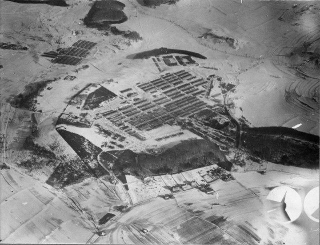 Münsingen - Luftbild von 1916