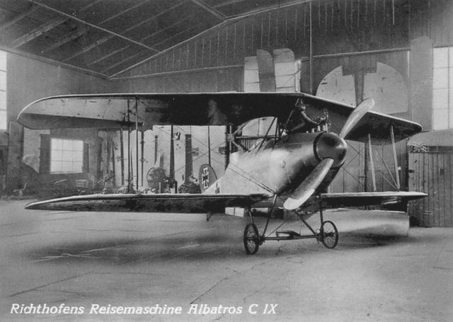 3 Böblingen Deutsches Luftfahrt-Museum innen 2_Albatros C IX Richthofen