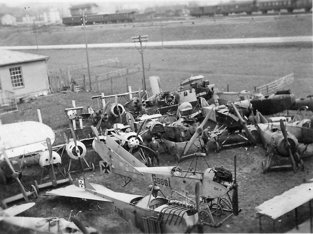 Böblingen Deutsches Luftfahrt-Museum Abtransport Berlin 1935-04-17 1