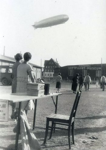 Böblingen Deutsches Luftfahrt-Museum - Flugtag mit LZ127 1931-06-28