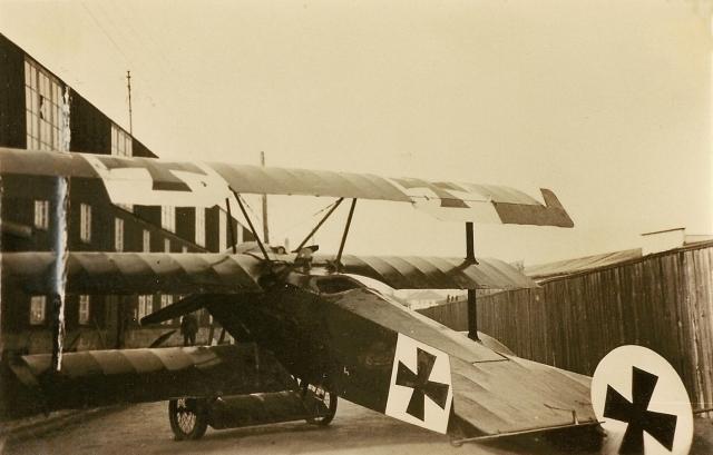 Böblingen Deutsches Luftfahrt-Museum Fokker DRI Richthofen (3)