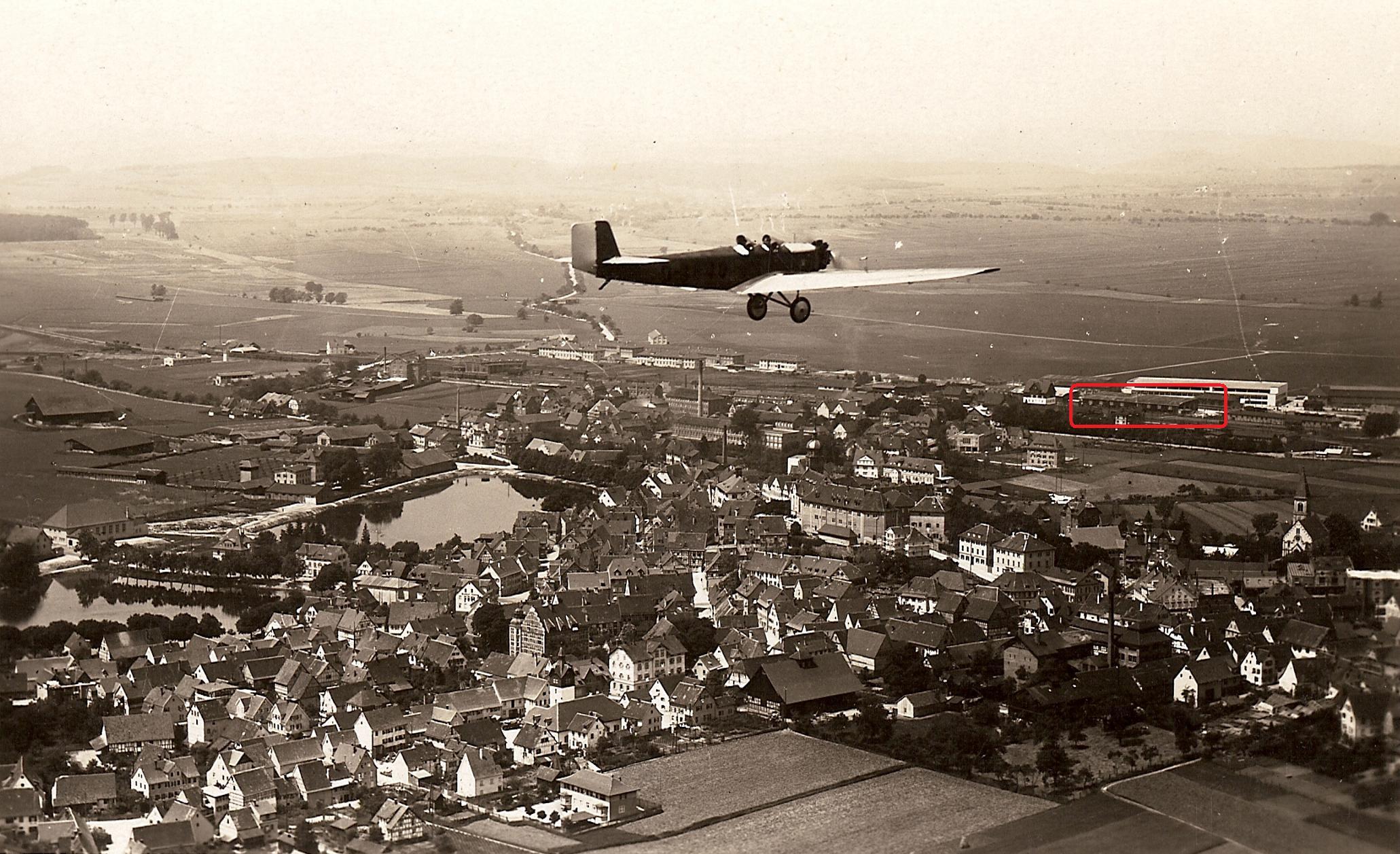 Böblingen Deutsches Luftfahrt-Museum - Gebäude Lage