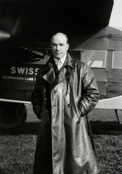 Armin Mühlematter (1904-1934), Pilot der Swissair