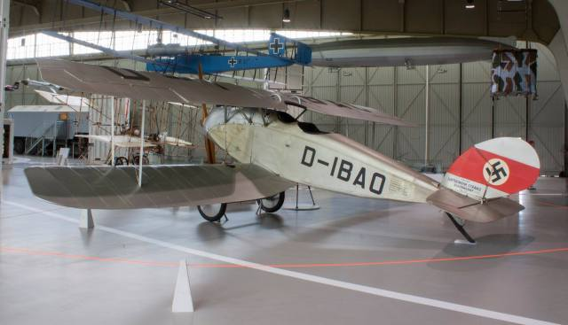 2018 Halberstadt CL IV D-IBAO Militärhistorisches Museum der Bundeswehr Berlin-Gatow